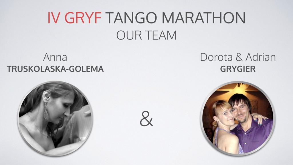 IV Gryf Tango Marathon our team