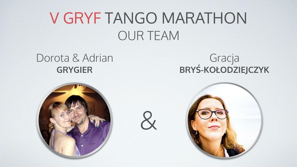 V Gryf Tango Marathon our team
