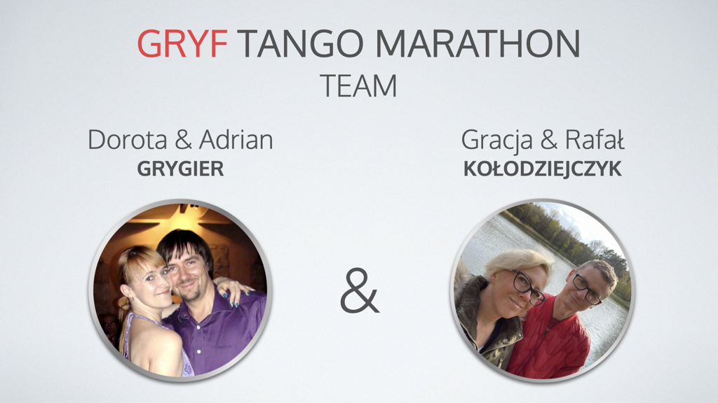 VI Gryf Tango Maraton TEAM